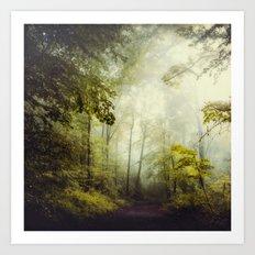 Glorious Woods Art Print