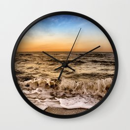 Sunrise In Naples Florida Wall Clock