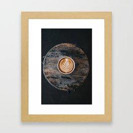 Coffe Art Framed Art Print