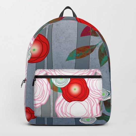 Flowers Summery Design Backpack