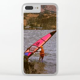 Columbia Gorge Clear iPhone Case