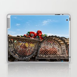 End of Lobster fishing season Laptop & iPad Skin