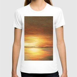 morning coffee and salt air T-shirt