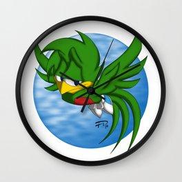 Quetzalito Wall Clock