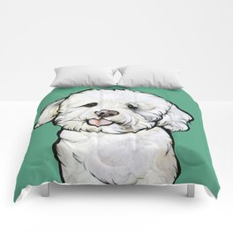Gracie the Bichon Comforters