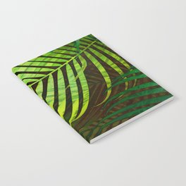 TROPICAL GREENERY LEAVES no3 Notebook