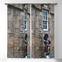 Bagpipes & Kilts Blackout Curtain
