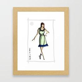 Chanelle in 8000Nerves Framed Art Print