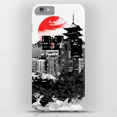 Abstract Tokyo-Shinjuku/Kyoto - Japan iPhone 6 Plus Slim Case