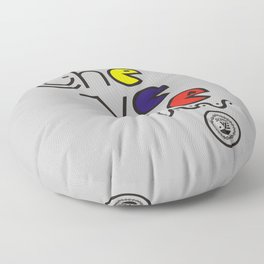¡Chévere Tricolor! Floor Pillow