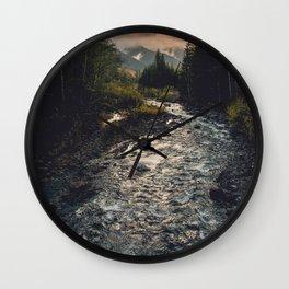 The Sandy River II Wall Clock