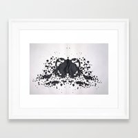 hippo Framed Art Prints featuring HIPPO by Matthew Williams
