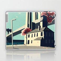 A pretty day at the brooklyn bridge Laptop & iPad Skin