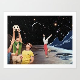 Astro sport Art Print