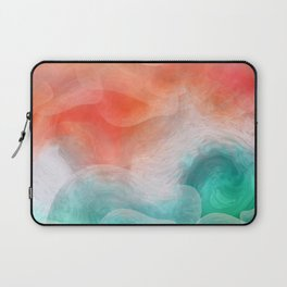 """""""Coral sand beach and tropical turquoise sea"""" Laptop Sleeve"""