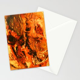 sick face Stationery Cards