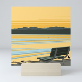 Sunrise - Dash Point in the Salish Sea Mini Art Print