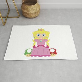 Princess Peach Rug
