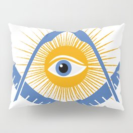 Freemasonry symbol Pillow Sham
