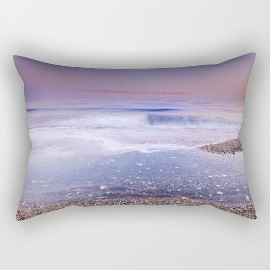 """Looking at the waves"" Sea dreams Rectangular Pillow"
