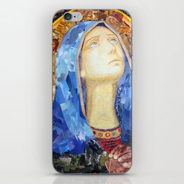 Our Lady of Broken Pieces iPhone Skin