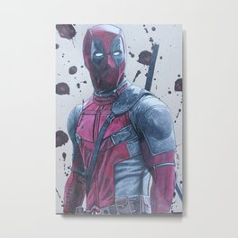 The Merc with a Mouth Metal Print