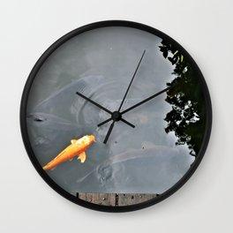 Koi Astound Wall Clock