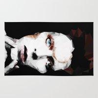david olenick Area & Throw Rugs featuring David by Natasha Troy
