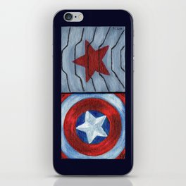 Captain Soldier iPhone Skin