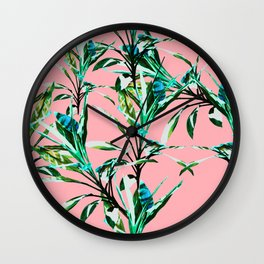 Tropicalist III Wall Clock