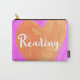 Reading mug, Bookish Mug, Bibliophle, Bookish Art, Bookstagram, Reading Carry-All Pouch