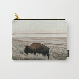 Bison of Antelope ISland Carry-All Pouch