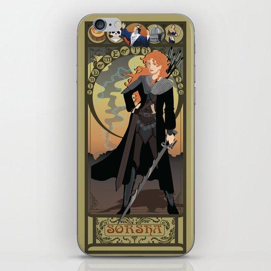 Sorsha Nouveau - Willow iPhone & iPod Skin
