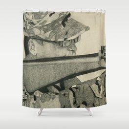 Armor of God Shower Curtain