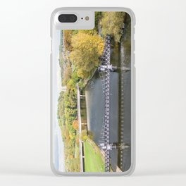Ferry bridge Burton on Trent Clear iPhone Case