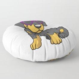 Cute Doberman Puppy Gift Doberman Pinscher Print Floor Pillow