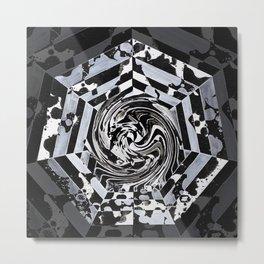 Isomorphism Metal Print