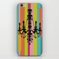 chandelier iPhone & iPod Skins featuring chandelier by Fairytale ink
