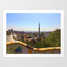 Gaudí Art Print