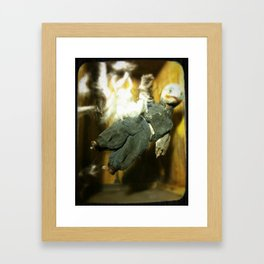 The Exploding Boy Framed Art Print