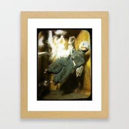 The Exploding Boy Framed Art Print
