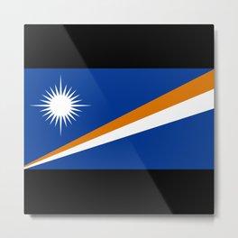Mh Flag Metal Print