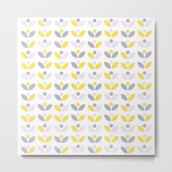 Yellow and Grey Abstract Flower Pattern #society6 #decor #buyart #artprint by lyovajan
