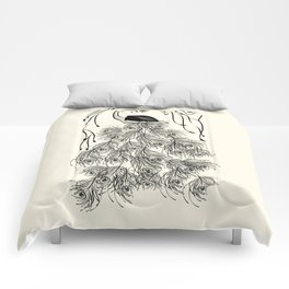 Jungle Peacock Comforters