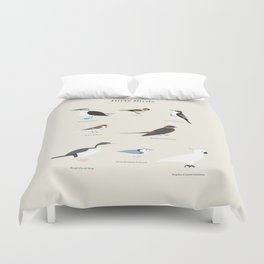 Dirty Birds Duvet Cover