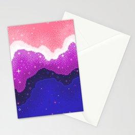 Genderfluid Pride Galaxy Stationery Cards