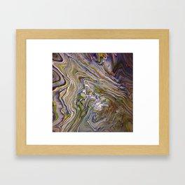 Topographical 3 Framed Art Print