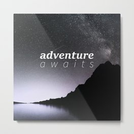 Adventure Blue Metal Print
