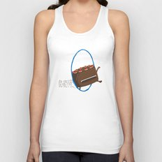The Cake is Alive Unisex Tank Top