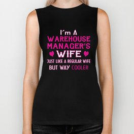 Warehouse Manager's Wife Biker Tank